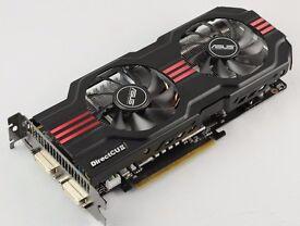 NVIDIA ASUS GTX 560 TI 1Gb RAM