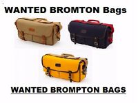 BROMPTON BAGS Luggage WANTED NEW OR USED