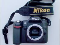 NIKON D80 camera. Only 2325 shutter actuations. Like new.