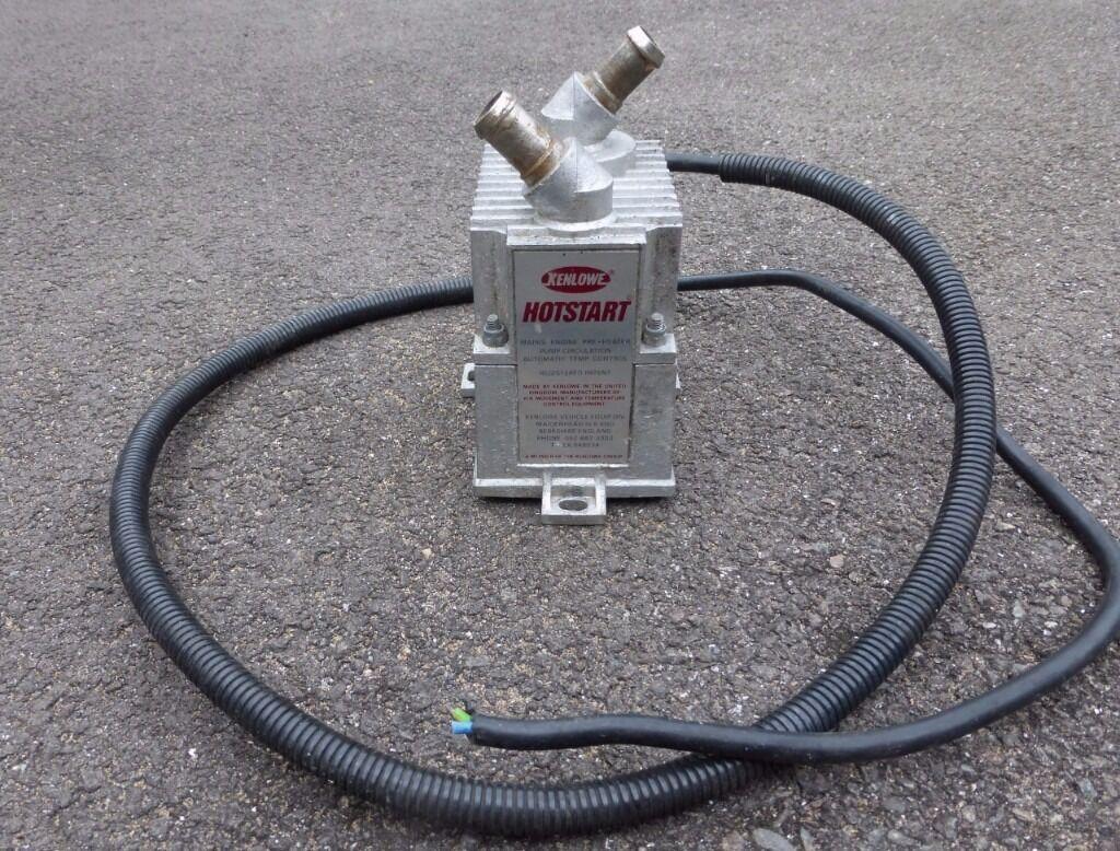 Kenlowe Hotstart 3kw Engine Preheater In New Romney