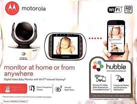 Motorola MBP853 Connect Wi-Fi HD Video Baby Monito