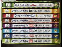 Box set of Diary of a Wimpy Kid Books