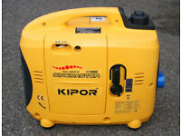 Kipor IG1000 Digital Generator - Immaculate As New Condition - Very Little Use.