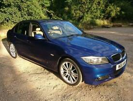 BMW 320d m sport 2011 in stunning Blue.