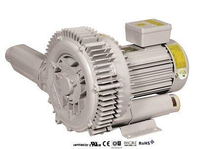 Pacific Regenerative Blower Pb-102 Hrb-102 Ring Vacuum And Pressure Blower