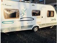Cristall Moorea 530 bb 5 berth caravan