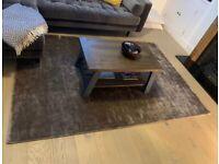 MADE Merkoya luxury rug- charcoal grey