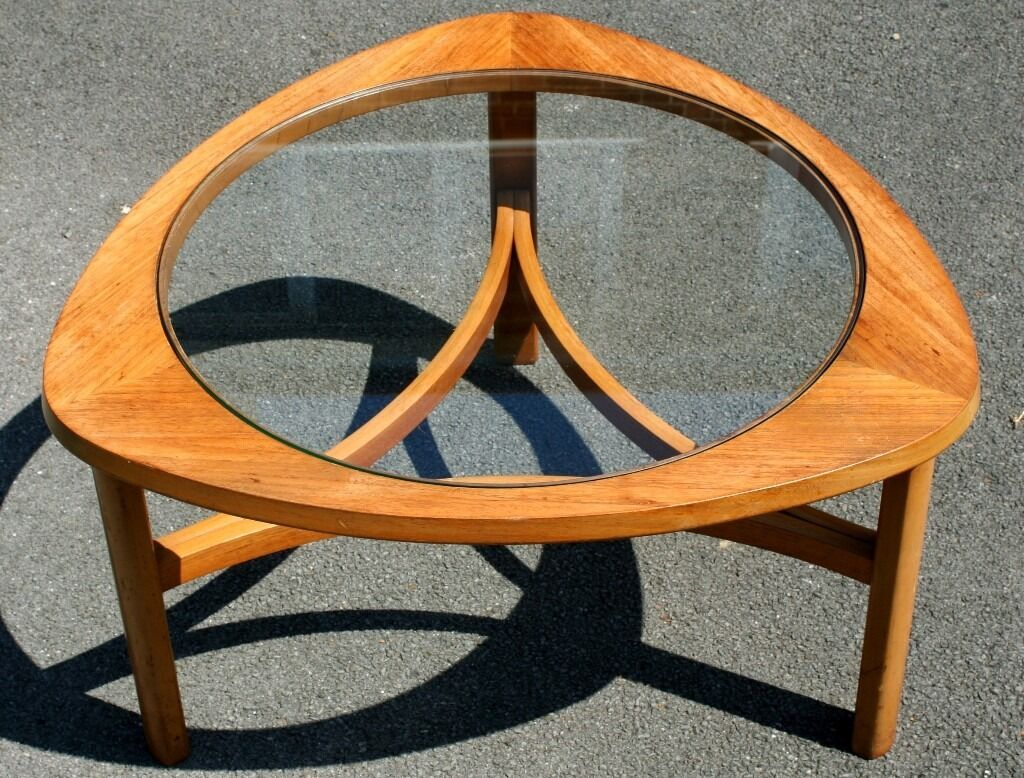vintage 70s furniture. Stylish Solid Vintage/Retro Triform Wood/Glass Coffee Table Nathan Furniture 60s/70s Vintage 70s C