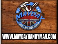 Mayday Handyman Services - Home Improvements and Much More /Joiner / Plumber / Painter / Builder etc