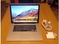 """Apple MacBook Pro """"Core i5"""" 2.4 15"""" Mid-2010, 4GB, 120GB SSD, GT 330M, A1286"""