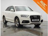 2014 Audi Q3 2.0 TDI Quattro S Line 140bhp **Finance & Warranty** (tiguan,q5,qashqai