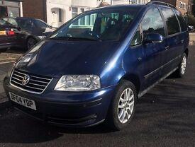 Volkswagen vw sharan 1.9tdi blue 7 seater Diesel