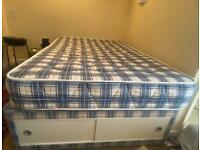 Divan double bed base