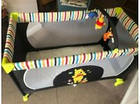 Hauck Disney Baby Dream-n-Play Go Travel Cot