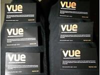 6x Vue Cinema Tickets Any Movie-Any Time / CHEAP / save ~£17!