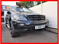 ML --- 2008 Mercedes-Benz M Class 3.0 ML320 CDi --- Edition 10 --- Diesel Auto --- Nice Black ML 320
