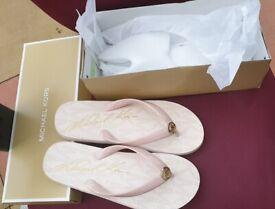 Michael Kors MK sandals Size 8 Designer shoes New