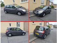 2004 Renault Megane Scenic - 1.5cc Diesel - Manual - Only 63000 mileage - Bargain