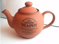 Henry Watson the Original Suffolk tea pot, terracotta ceramics