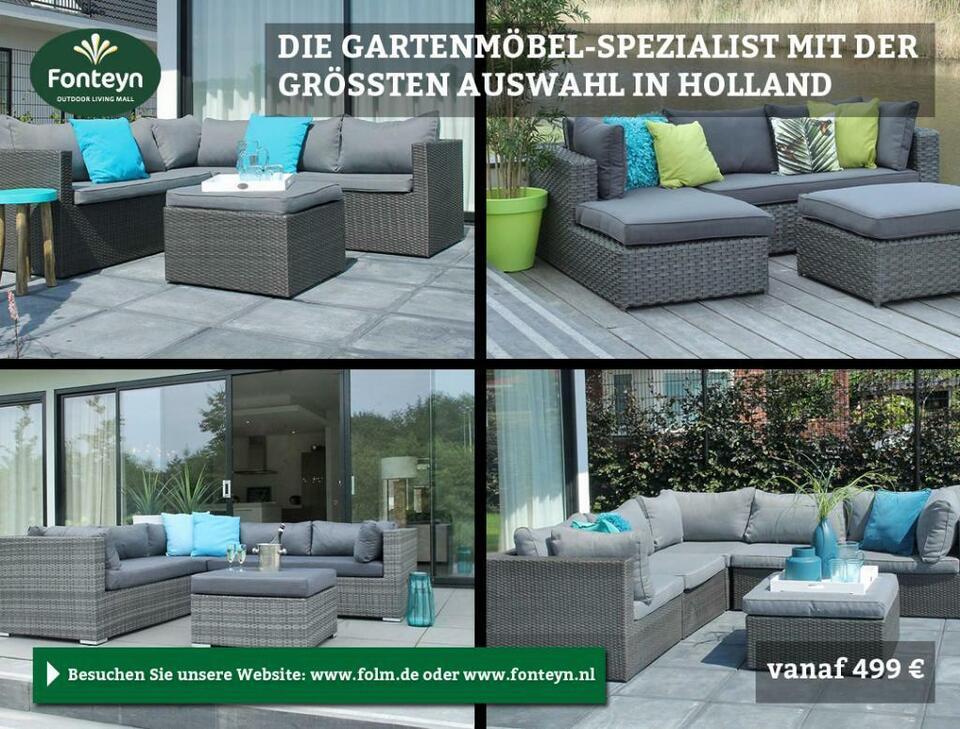 Gartenmöbel Gartengarnitur Tisch Stuhl Lounge Gartenset Sofa in Emmerich am Rhein