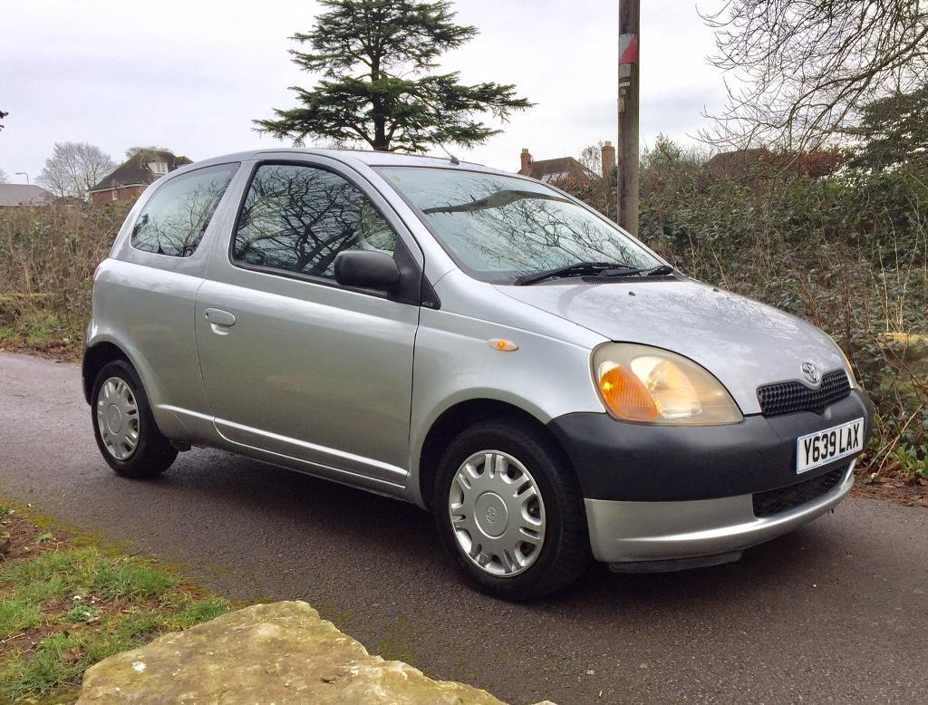 Cheap Small Car Toyota Yaris 1 0 Gsi 3dr With Long Mot Only