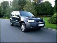 2001 Ford maverick 2.0 XLT 4X4 Full black leather 12 months mot