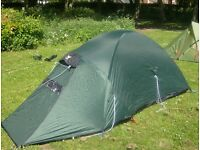 terra nova wild country 2 man tent.