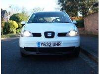Seat Arosa 1.4D TDI 2001, NEW MOT, Very clean, Same owner for 11 years