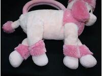 RUSS Berrie Pink Poodle Purse / Bag