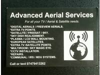 Aerial / Tv and satellite services.