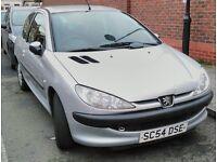 2005 Peugeot 206 Automatic 1.4L 3dr Petrol cheap insurance/Run 12 Months MOT (Honda,Nissan,Toyota)