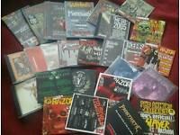 Kerrang, Metal Hammer CDs & magazines + other CDs Nirvana