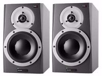 Pair of Dynaudio BM5A MKII Active Studio Reference Monitors / Speakers mark II