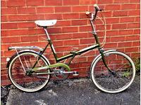 Lovely 1979 Vintage Raleigh Stowaway Bike / Bicycle