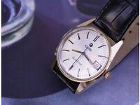ROAMER SEAROCK Vintage Swiss Gent's wristwatch with Box, circa 1973