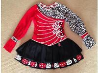 Siopa Rince Irish Dancing Dress, Approx Age 12