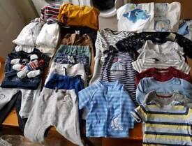 Bundle of 6-9mths boys clothes