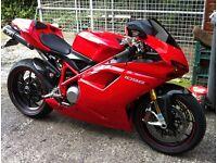 Ducati 1098S Red