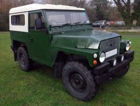 1974 Land Rover Series III 88 Inch Half Ton (lightweight)