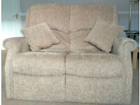 Sofa 2 Seater High Back In Excellent Condition £289 ono