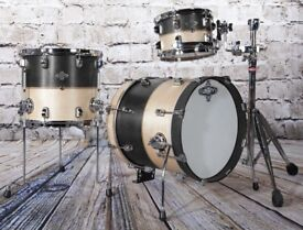 LIBERTY DRUMS - BLACK NATURAL AVANT SERIES DRUM KITS