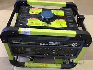 POWER IT! 3800 WATT GENERATOR *MINT* (GN-3750) $299.99