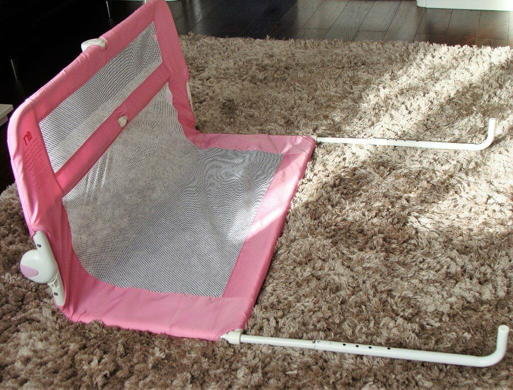 Pink Mothercare Safest Start Bed Guard for a tenner!