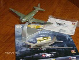 Corgi Model Aircraft, 1:144 Douglas C-47A Dakota C.3 of the BBMF (Model No 47106)