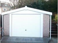 20x10 Apex Concrete Garages