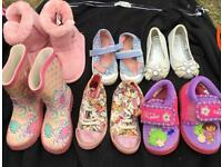 Bundle of girls shoes size 5&6