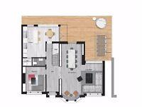 Planning application, Interior Designer, Extension, Loft Conversion,3D Model & Visuals
