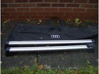 2 sets of Audi roof bars new
