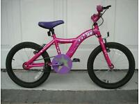 Girls Apollo bike 5-7 years excellent condition