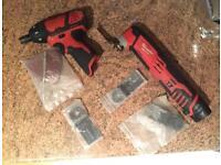 Milwaukee multi tool and impact set
